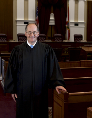 Photo of Justice Canady by Mark Wallheiser