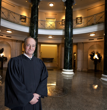 Photo of Justice Canady at the Florida Supreme Court by Mark Wallheiser