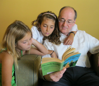 "Charles Canady has passed on his favorite hobby to his daughters, Anna, 9, and Julia, 11. ""Everywhere they go, they've got a book and are reading,"" says Canady, Sr."