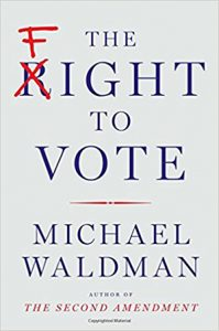 Photo of book cover The Fight to Vote